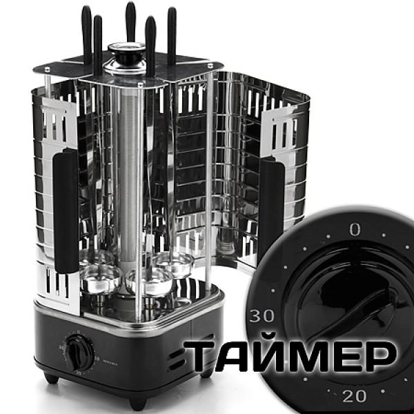10944 Шашлычница 1000Вт 5 шампур. с таймер MB (х6)