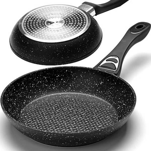 25623 Сковородка 26см мрам/крошка с руч MAYER&BOCH