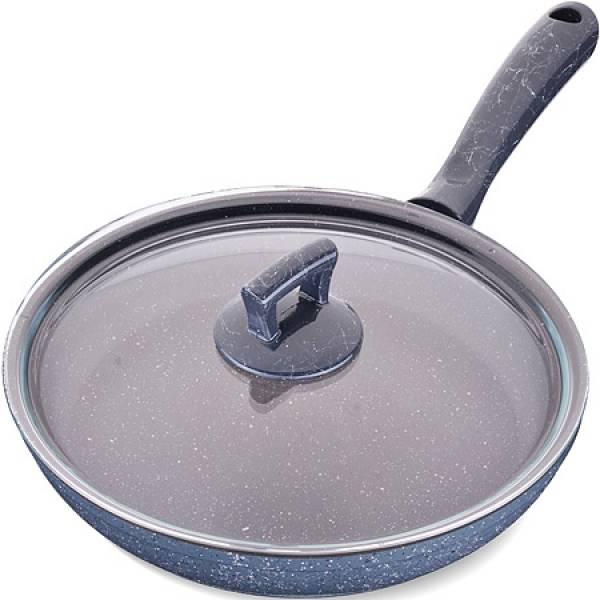 80228 Сковородка 26см алюм/мрам с крышкой Турция MAYER&BOCH