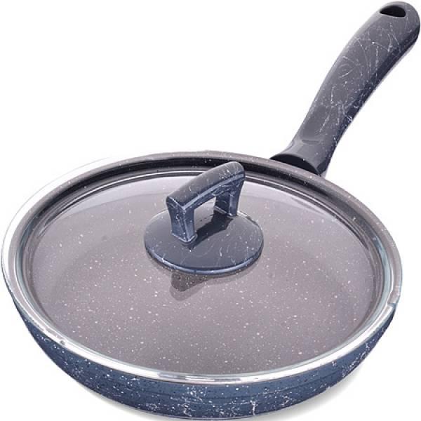 80226 Сковородка 22см алюм/мрам с крышкой Турция MAYER&BOCH