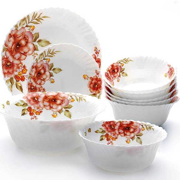 24102 Набор стеклянной посуды 19пр МВ (х1)