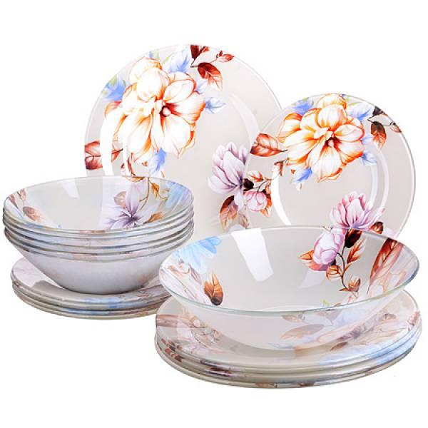 28331 Набор стеклянной посуды 19 пр LORAINE