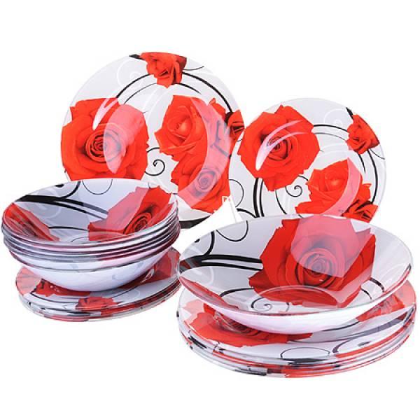 28330 Набор стеклянной посуды 19 пр LORAINE