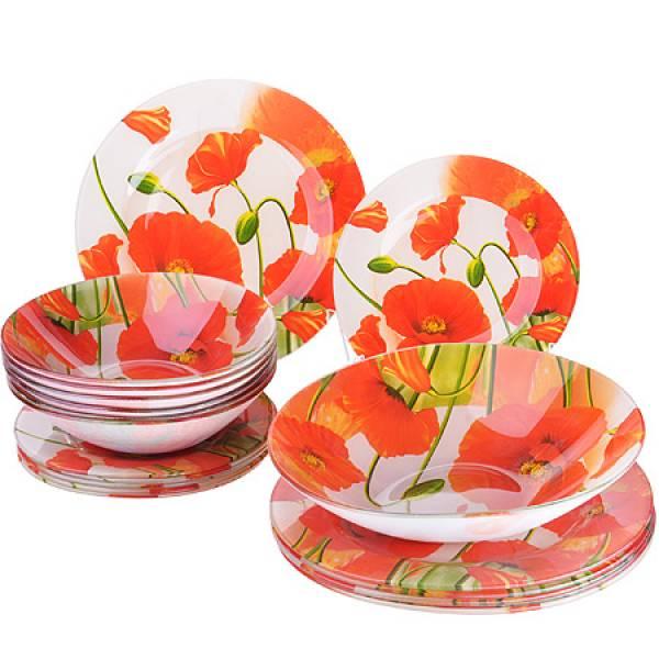 28333 Набор стеклянной посуды 19 пр LORAINE