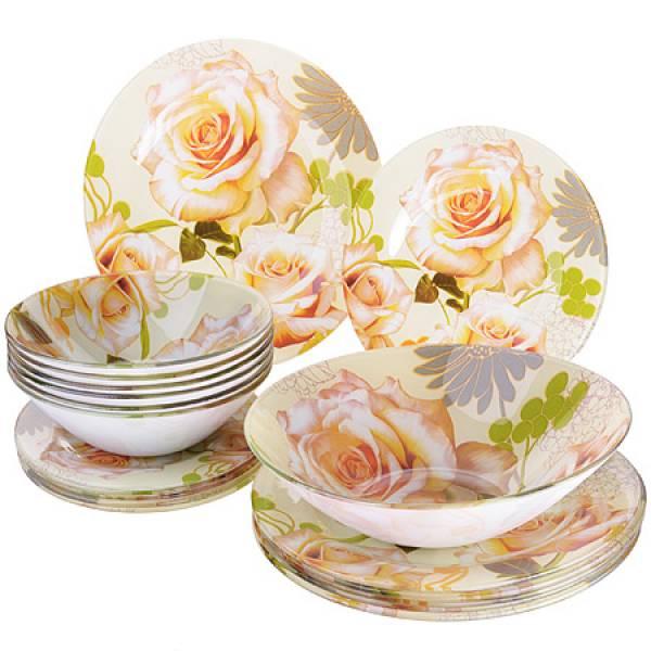 28334 Набор стеклянной посуды 19 пр LORAINE