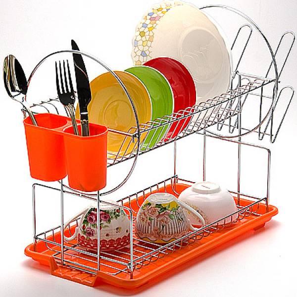23219 Сушилка для посуды 43х9см ХРОМ MAYER&BOCH