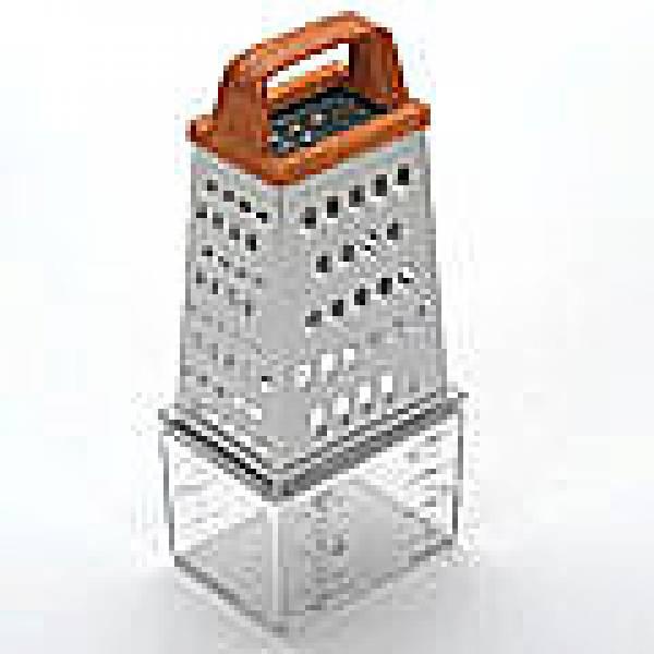 4997 Терка SK 4-х гран. с контейнером пл/руч (х72)