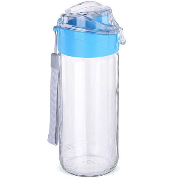 80544-2 Бутылка для напитков стекло ГОЛУБАЯ 0,5 л MAYER&BOCH