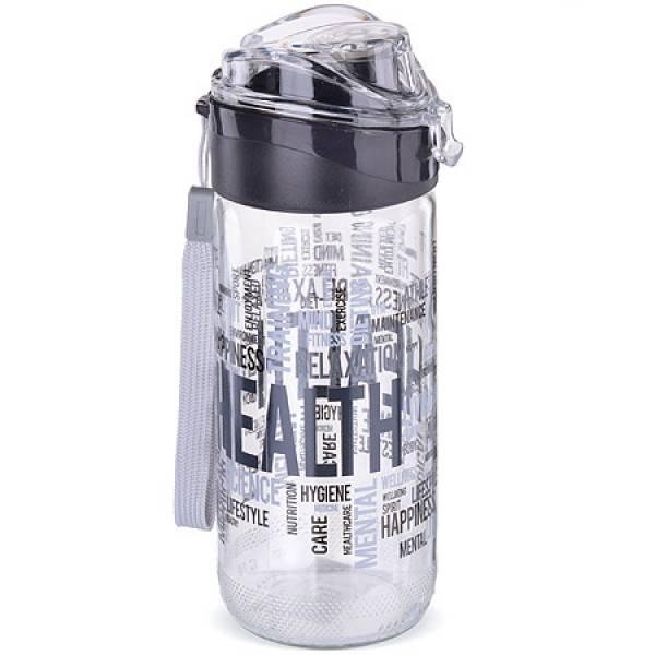 80545-1 Бутылка для напитков стекло 0,5 л ЧЁРНАЯ MAYER&BOCH