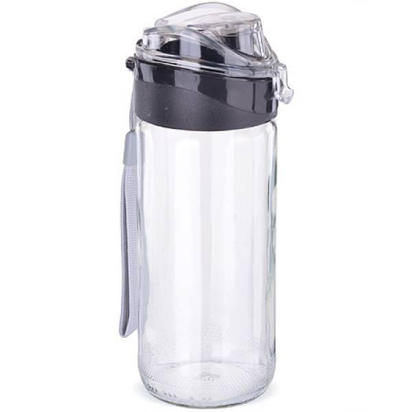 80544-1 Бутылка для напитков стекло ЧЁРНАЯ 0,5 л MAYER&BOCH