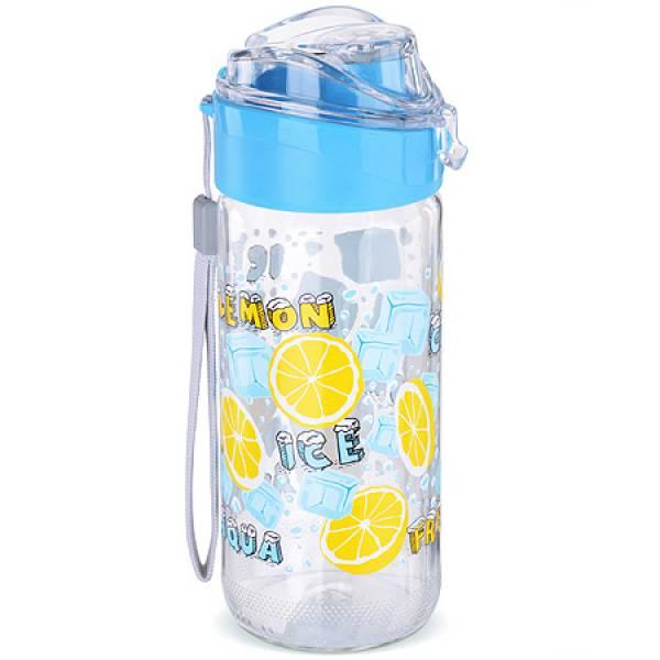 80545-2 Бутылка для напитков стекло 0,5 л ГОЛУБАЯ MAYER&BOCH