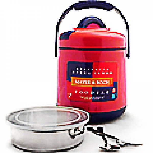 901-1 Термос пищевой(1,6л)пласт/корп м/кол КРАСНЫЙ МВ(х12)