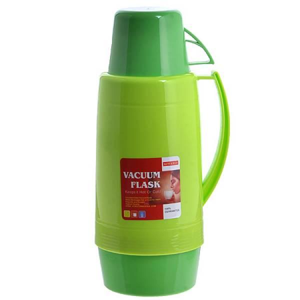 29955-2 Термос 1,8 литра стек/колба Салатовый МВ
