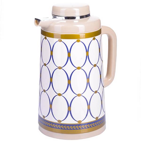 28570 Термос 1 литр стеклянная колба MAYER&BOCH