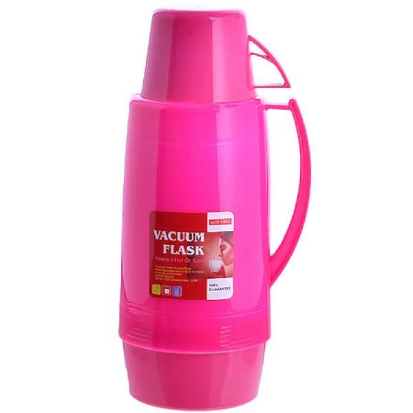 29955-1 Термос 1,8 литра стек/колба Малиновый МВ