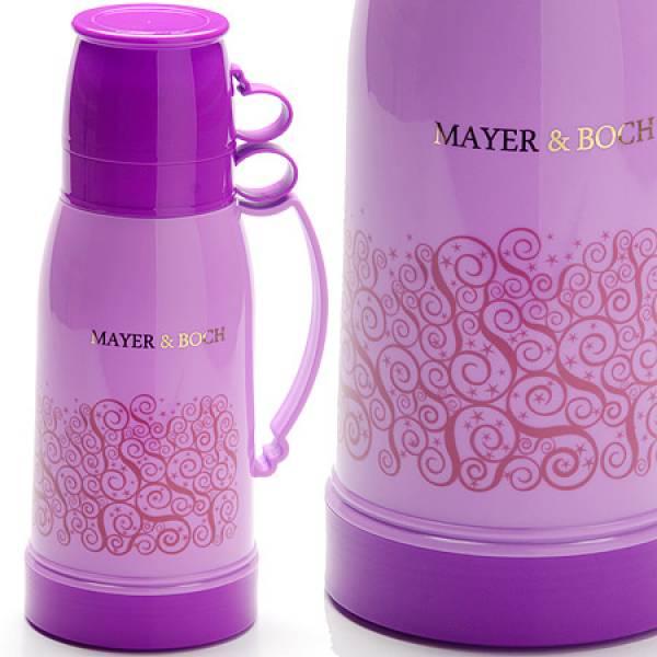26105 Термос 1л ст/колба + 2 кружки MAYER&BOCH