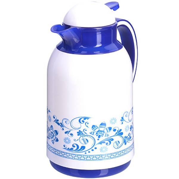 28568 Термос 1 литр стеклянная колба MAYER&BOCH