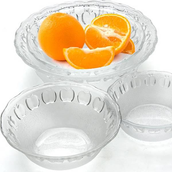 25538 Наб/посуды 4пр стекло 22,5х17х19х13см MAYER&BOCH