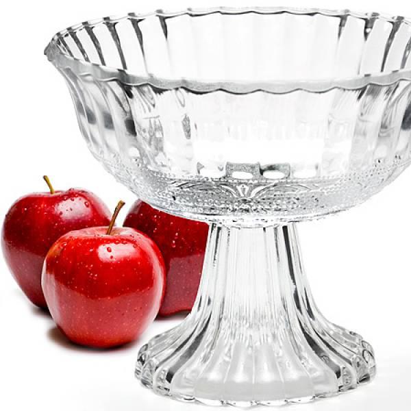 25537 Ваза для фруктов стекло 17,5х14,5см MAYER&BOCH