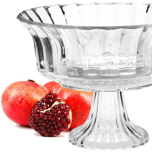 25536 Ваза для фруктов стекло 22,5х16,5см MAYER&BOCH