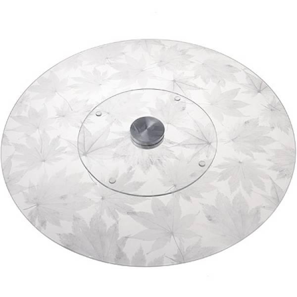 3050-9015 Тортовница34см вращающ. стекло(х6)(х15)МВ