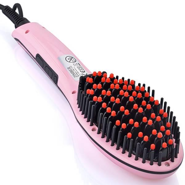 11192 Рассчёска-выпрямитель для волос 65Вт ZIMBER