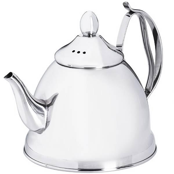 29002 Заварочный чайник глянцевый 1 литр MAYER&BOCH