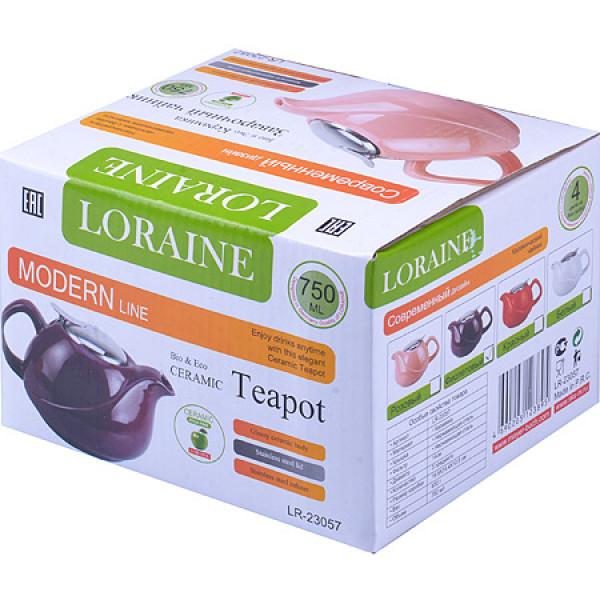 23057-6 Заварочный чайник 750мл ФИОЛЕТ LORAINE