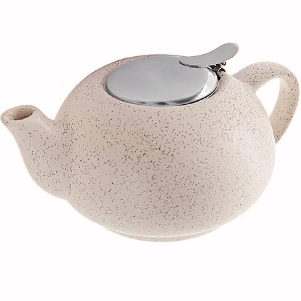 26596 Заварочный чайник БЕЖЕВЫЙ 750мл LORAINE