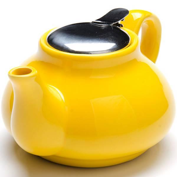 26594-2 Заварочный чайник ЖЕЛТЫЙ 750мл LORAINE