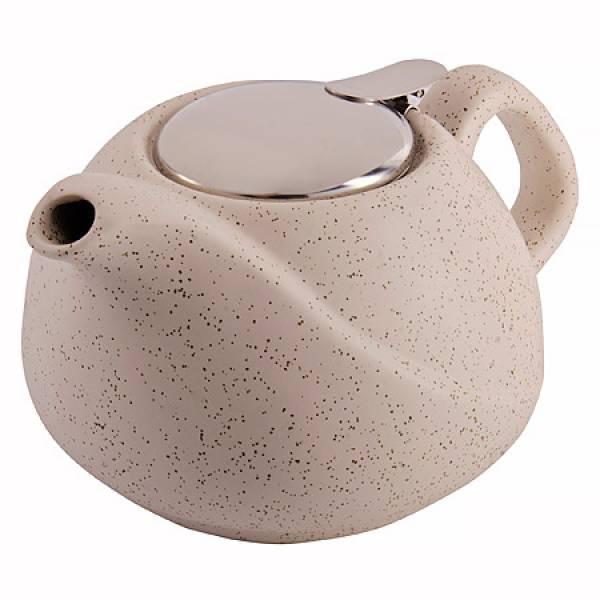 29359 Заварочный чайник 750мл керамика БЕЖЕВЫЙ LORAINE