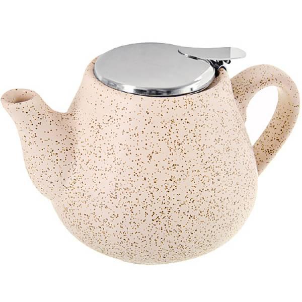 26595 Заварочный чайник БЕЖЕВЫЙ 600мл LORAINE