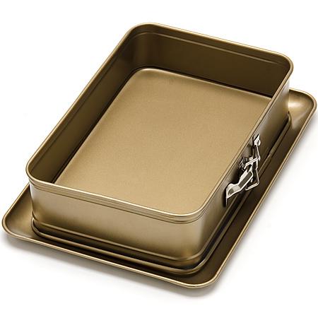 24262 Форма для пирога квадр 28х18,5х7см МВ (х12)