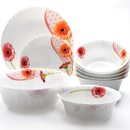 24101 Набор стеклянной посуды 19пр МВ (х1)